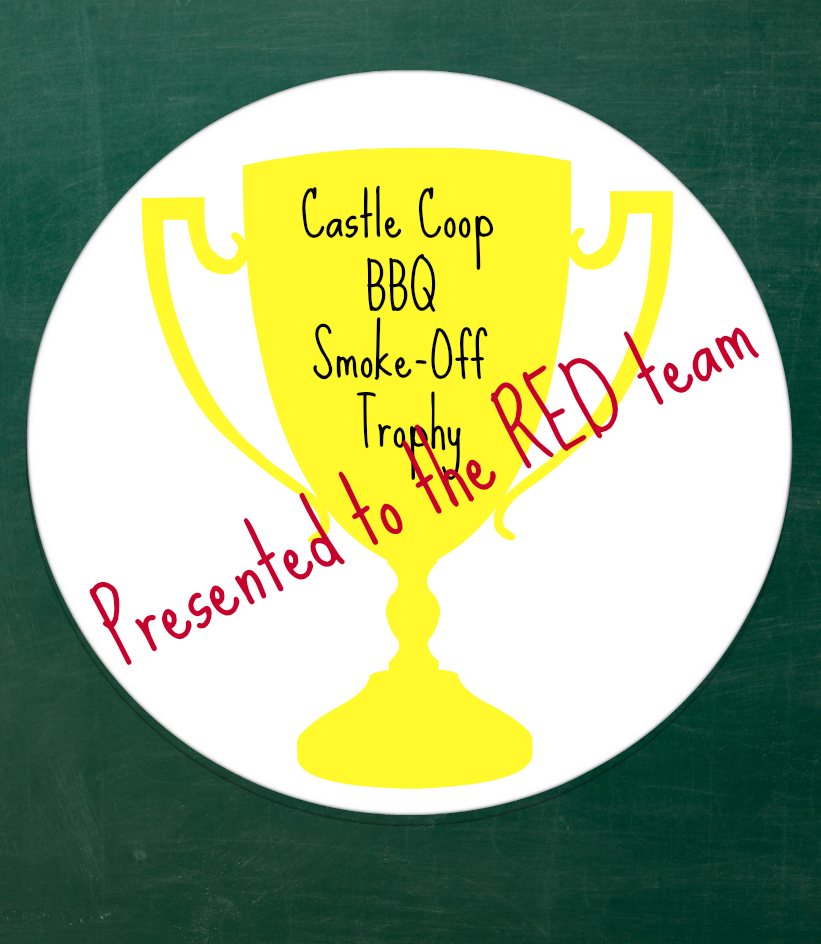 Smoke Off trophy RED